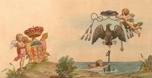 Gaetano Spinetti, Pianta della città di Ravenna, 1844